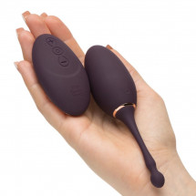 Фиолетовое виброяйцо I've Got You Rechargeable Remote Control Love Egg